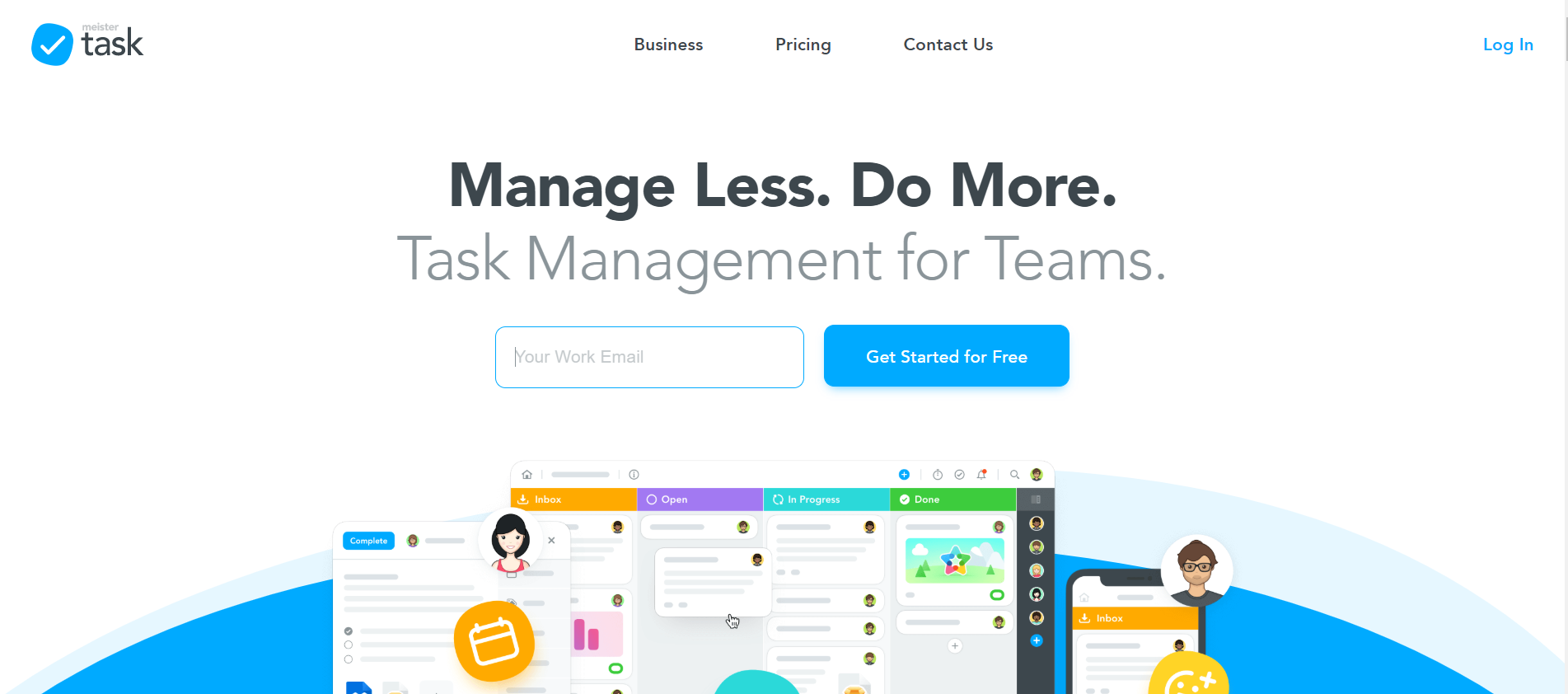 online free task and project management software MeisterTask