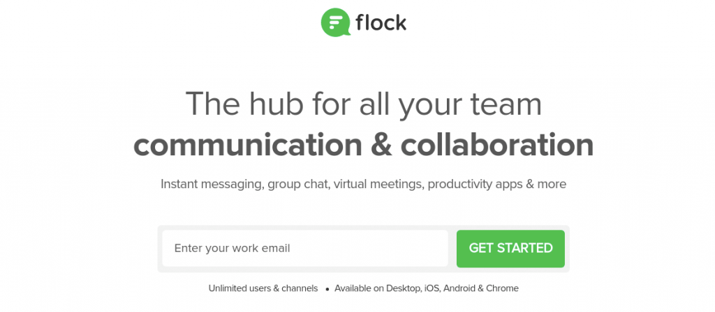 Flock is great alternative to Confluence