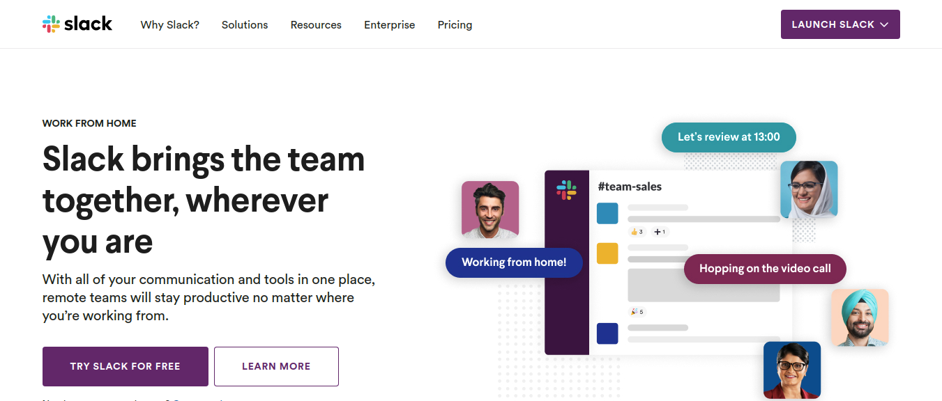 Slack as microsoft teams alternatives