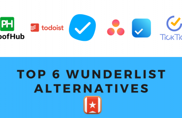 Top 6 Wunderlist Alternatives You Must Consider