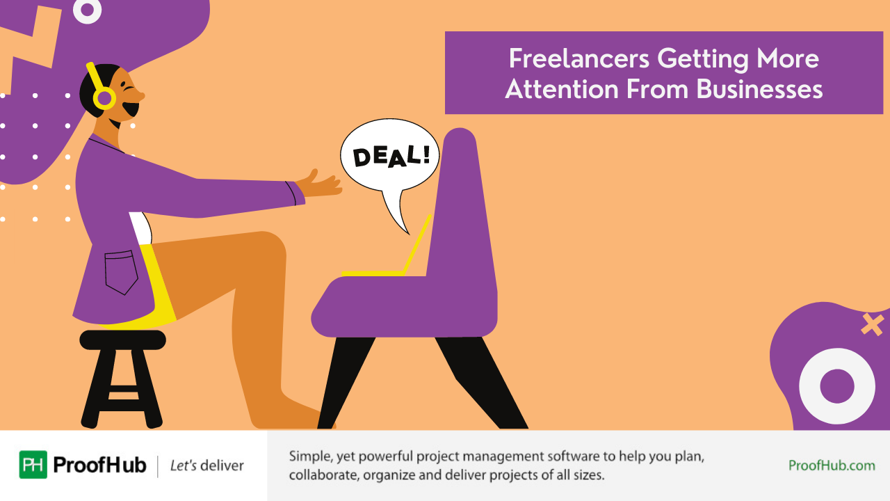Freelancers Getting More Attention From Businesses