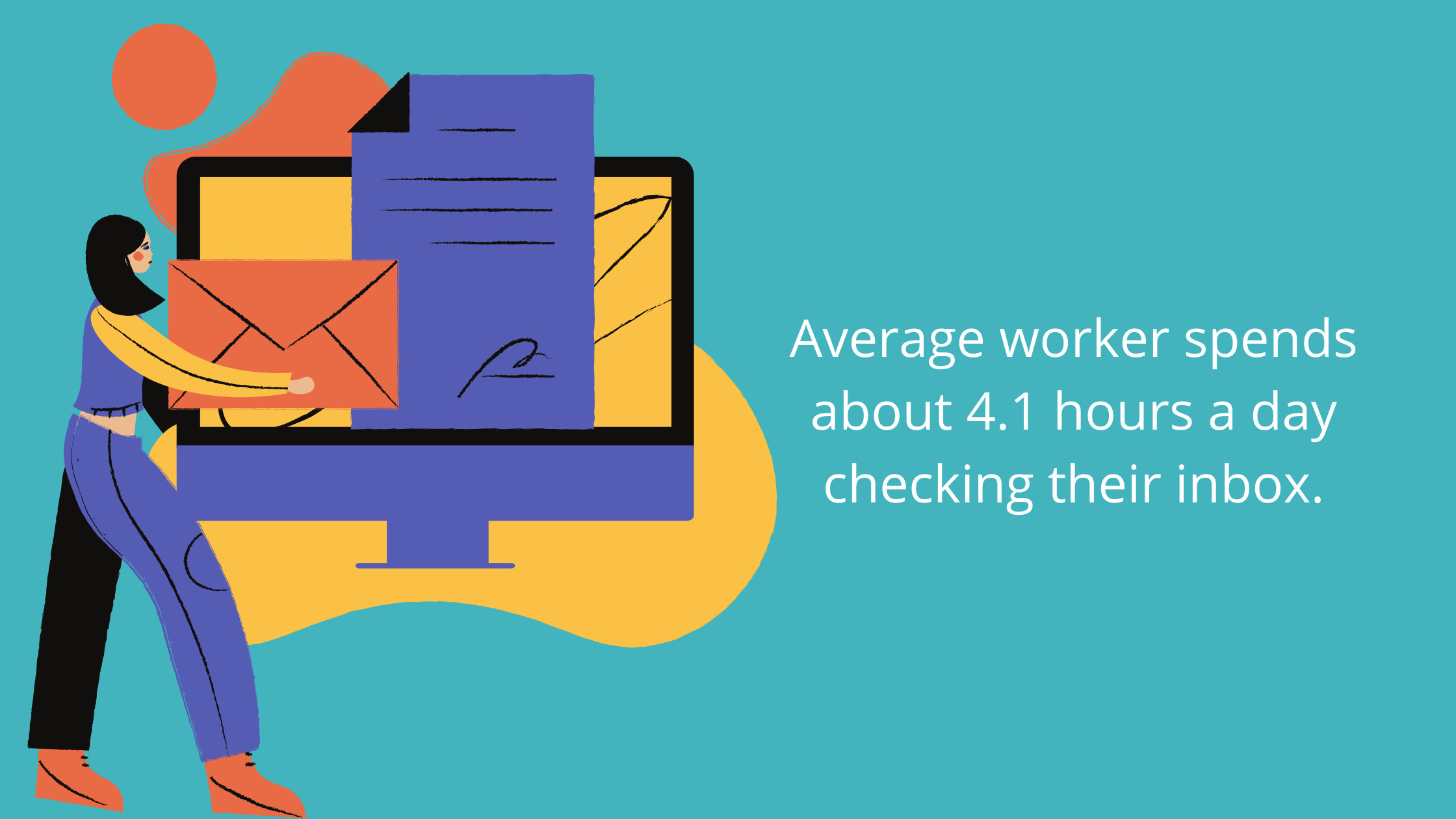 Workplace email productivity stats