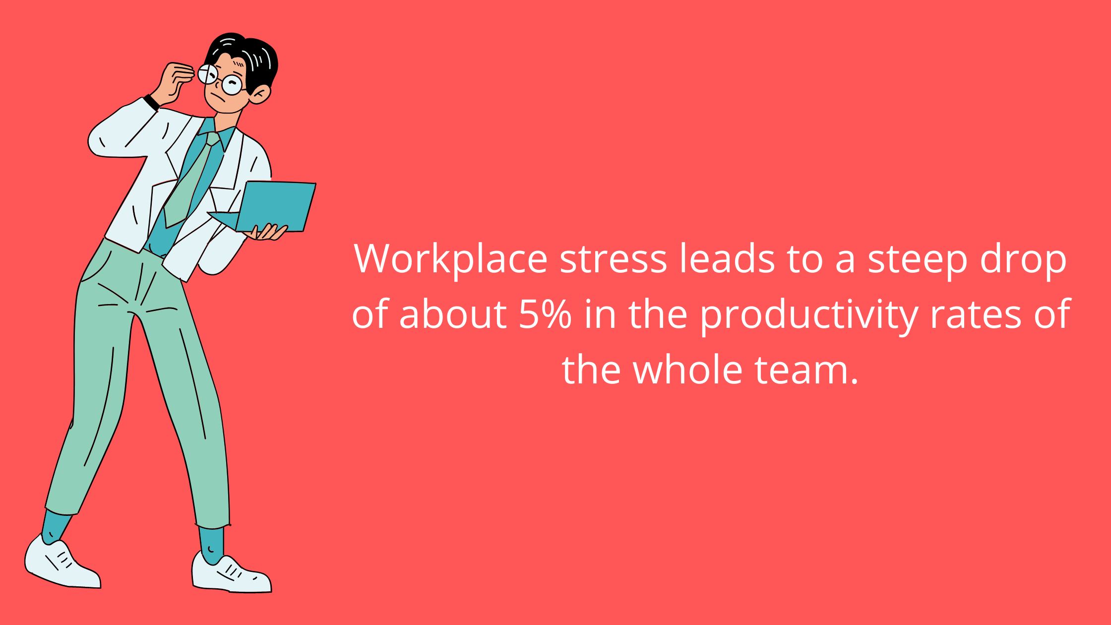 Workplace productivity stats & facts related to stress