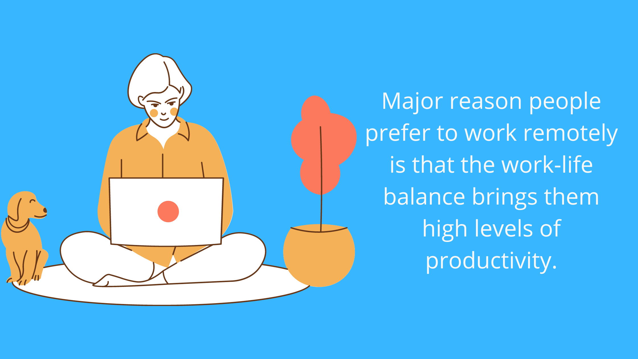 work-related stress and remote work productivity stats and facts
