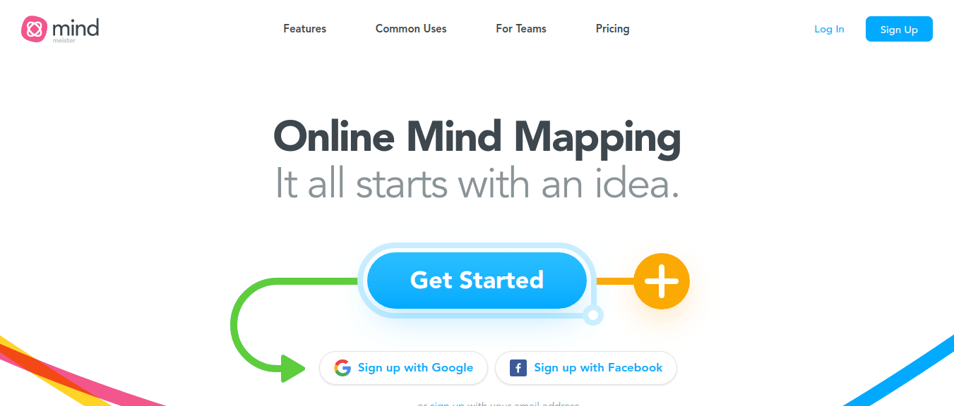 Mind mapping tool Mind Meister