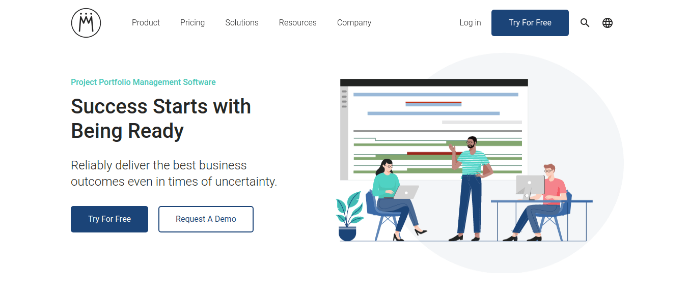 Meisterplan is a marketing project management tool