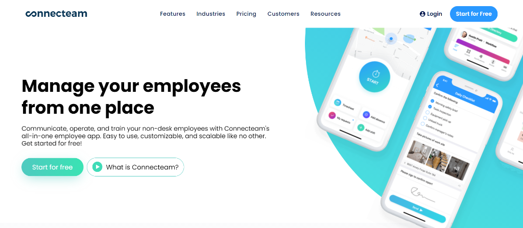 Connecteam for Employee Communication