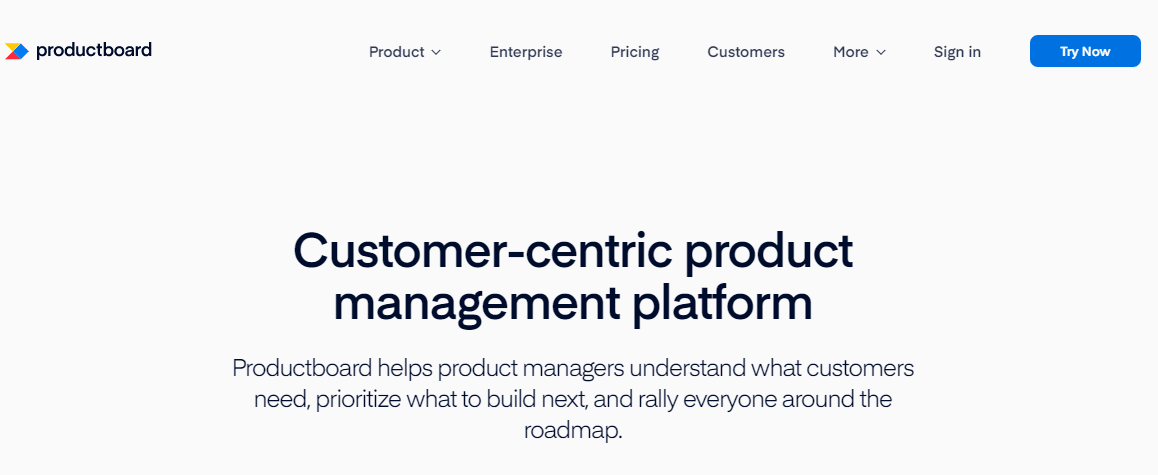 Productboard as Clubhouse.io Alternatives